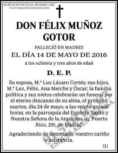 Félix Muñoz Gotor